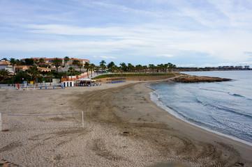 Playa Flamenca beach morning