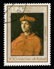 Portrait of Cardinal by Rafael