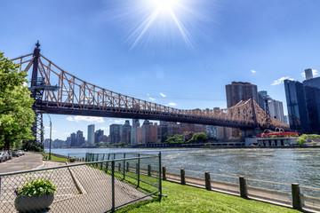 Queensboro Bridge, west Manhattan, NYC