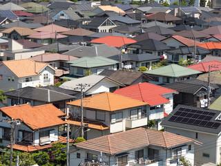 Fototapete - 東京近郊の住宅街
