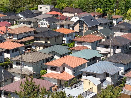Fototapete 東京近郊の住宅街