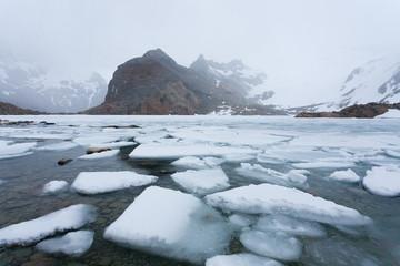 Laguna de Los Tres view, Fitz Roy mountain, Patagonia