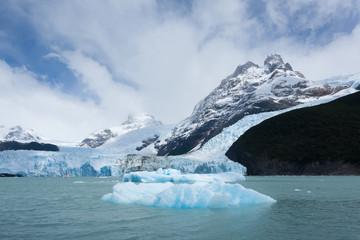 Spegazzini Glacier view from Argentino lake, Patagonia landscape, Argentina