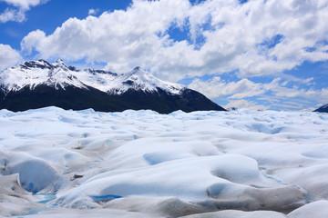 Walking on Perito Moreno glacier Patagonia, Argentina
