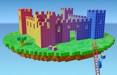 Building an air castle • Isolation