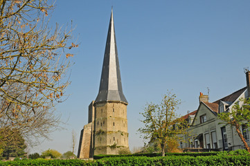 Rovine del monastero di Bergues, Pas-de-Calais, Hauts-de-France