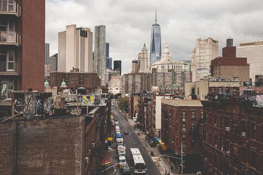 New York City Chinatown district
