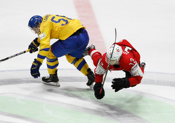 Ice Hockey World Championships - Group B - Sweden v Switzerland