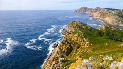 Galicia. Islas Cies / Cies Islands. National Park in Rias Baixas.Spain