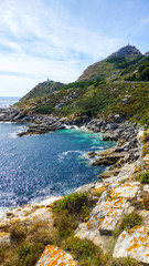 Cies Islands. National Park in Galicia,Spain