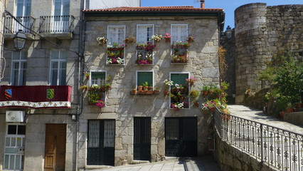 Ribadavia,medieval village of Galicia,Spain