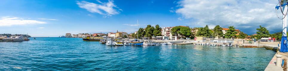 Hafen und Altstadt Porec, Istrien, Kroatien