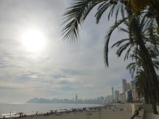 Benidorm, coastal  city of Alicante. Spain