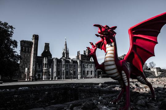 Cardiff Castle Dragon