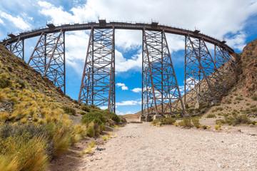 La Polvorilla viaduct, Salta province, Argentina