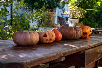 Jackolantern pumpkins