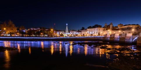 Tavira Portugal at night