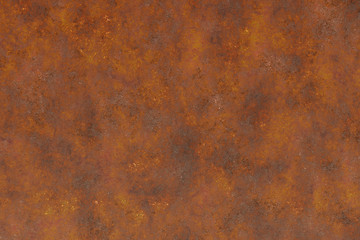 rust eroded corroded metal  Wall mural