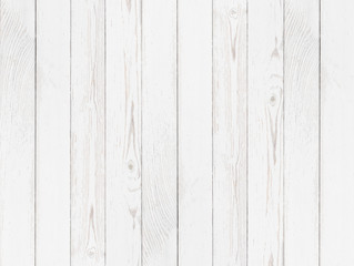 Grunge wood white painted background