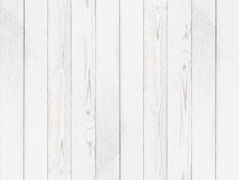 Grunge wood white painted background