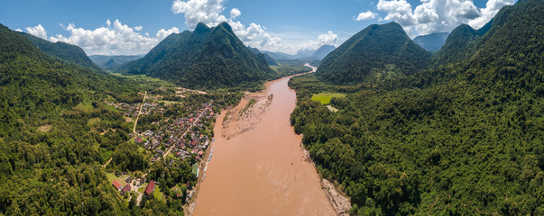 muang ngoi northern of laos