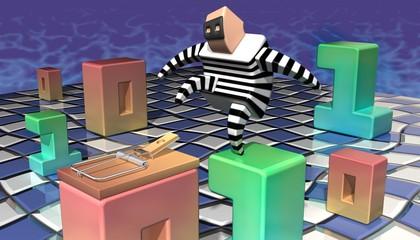 Antivirus • Anti malware • Data thief — Landscape orientation