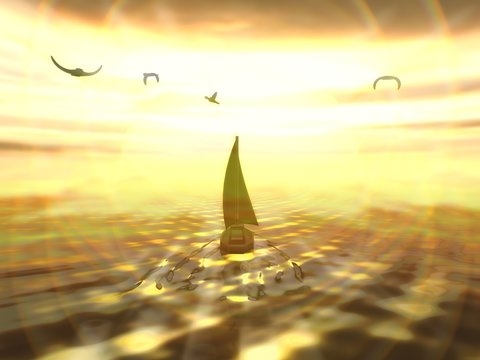 Sailing to eternity