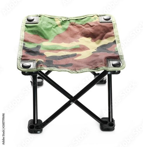 Swell Folding Stool Chair For Camping In Camouflage Pattern Inzonedesignstudio Interior Chair Design Inzonedesignstudiocom