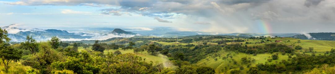 Landscape of Guanacaste Province, Costa Rica