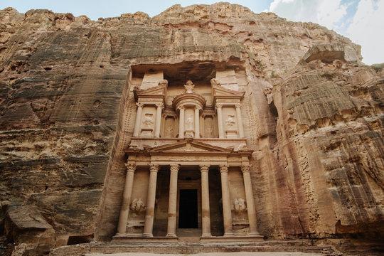 Trekking through Petra