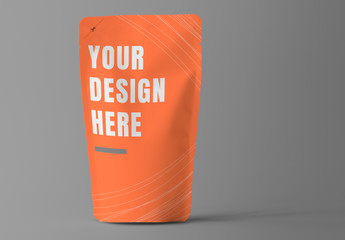 Pouch Food Product Packaging Design Mockup