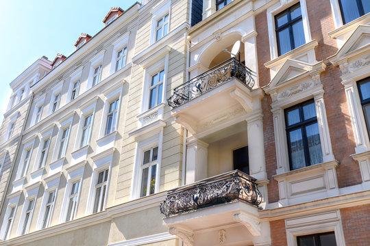 hochwertige Altbauten in Deutschland, sanierte Gründerzeithäuser
