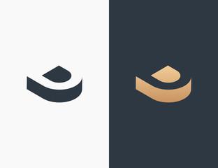 Letter D Logo Template Vector Illustration