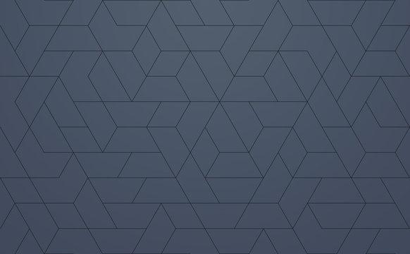 Modern Pattern Geometric, techie hexagonal based texture
