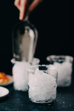 Icing Cocktail Glasses
