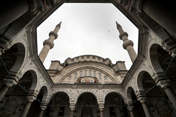 Big mosque in Istanbul