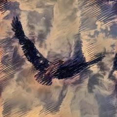 Fototapete - Bird of Freedom
