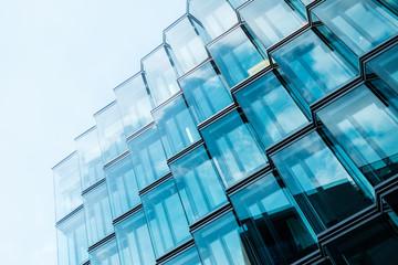 modern  architecture, office building glass facade Fototapete