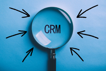 CRM Concept For Business