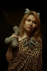 Prehistoric woman