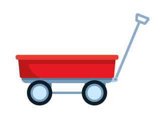 wagon icon cartoon
