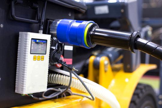 recharging electrical for forklift