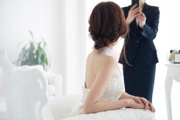 ウェディングプランナーと花嫁