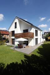 Einfamilienhaus Haus Terrase modern zuhause