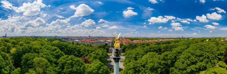 München Friedensengel Panorama