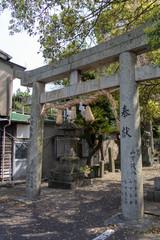 呼子の愛宕神社の鳥居