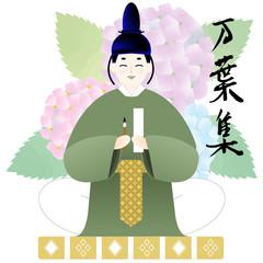 万葉集イメージ 奈良時代の男性