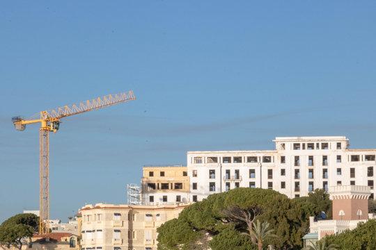 Réhabilitation des hôtels de luxe à la Pinède Juan les Pins, Côte d'Azur, Provence, France
