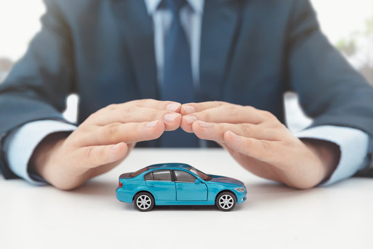 Car insurance, protection and safety concept