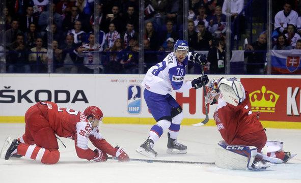 Ice Hockey World Championships - Group A - Slovakia v Denmark